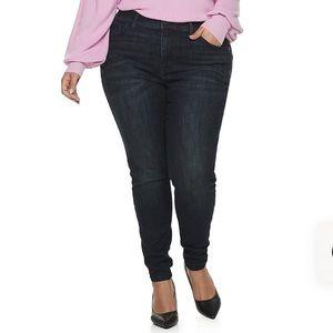 Plus Size EVRI Comfort Skinny Jean Pants